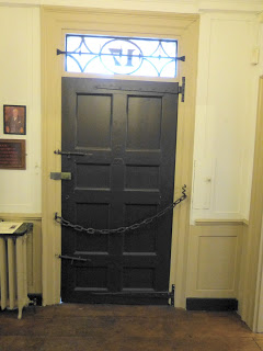 Front door of Dr Johnson's House